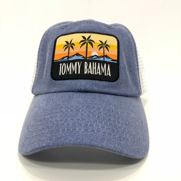 a6af46e3 Tommy Bahama Accessories | Trucker Hat | Poshmark
